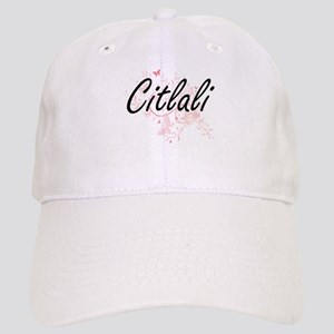 Citlali Artistic Name Design with Butterflies Cap