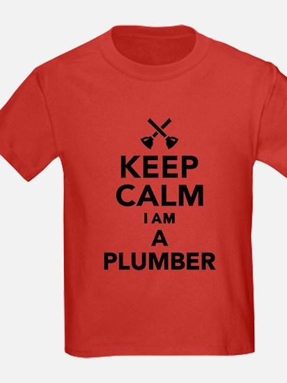 Keep calm I'm a Plumber T