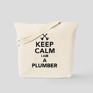 Keep calm I'm a Plumber Tote Bag
