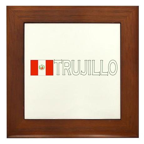 Trujillo, Peru Framed Tile