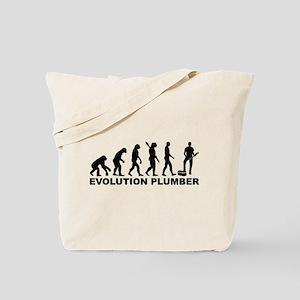 Evolution Plumber Tote Bag