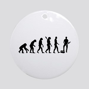 Evolution Plumber Round Ornament