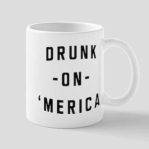 Drunk on 'merica Mugs