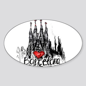 I love Barcelona Sticker