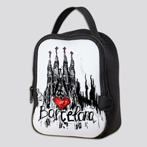 I love Barcelona Neoprene Lunch Bag