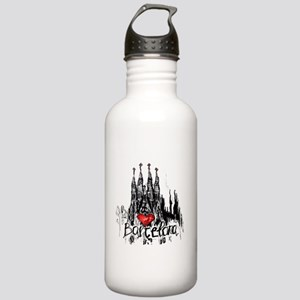 I love Barcelona Stainless Water Bottle 1.0L