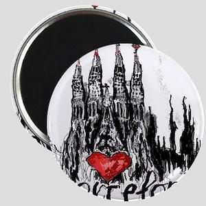 I love Barcelona Magnets
