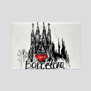 I love Barcelona Magnets