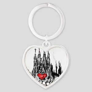 I love Barcelona Keychains