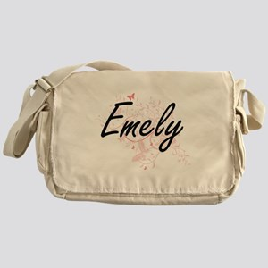 Emely Artistic Name Design with Butt Messenger Bag