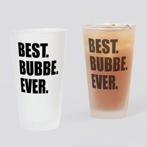 Best Bubbe Ever Drinkware Drinking Glass