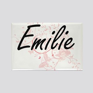 Emilie Artistic Name Design with Butterfli Magnets