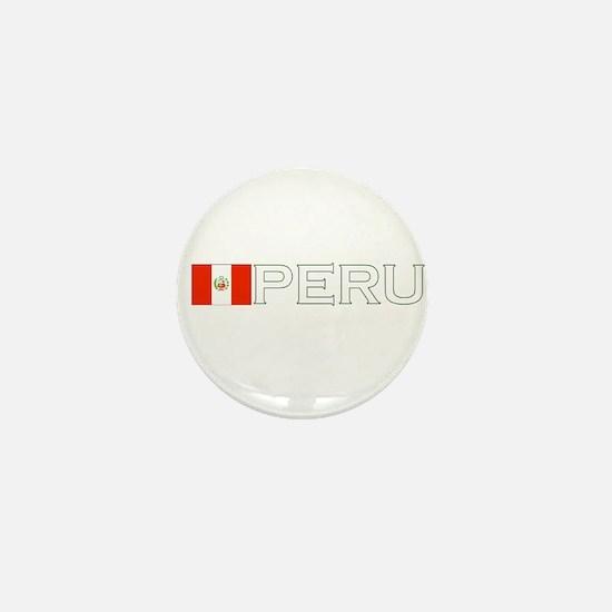 Peru Mini Button