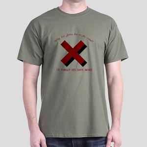 Forgot the safeword Dark T-Shirt