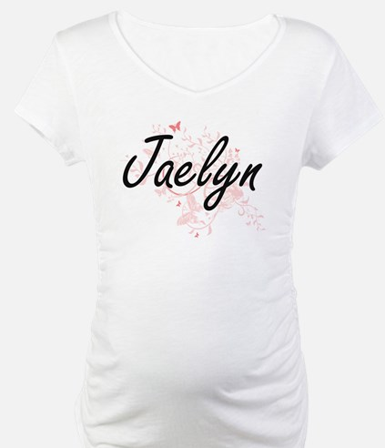 Jaelyn Artistic Name Design with Shirt
