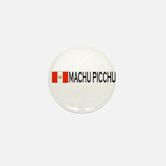 Machu Picchu, Peru Mini Button