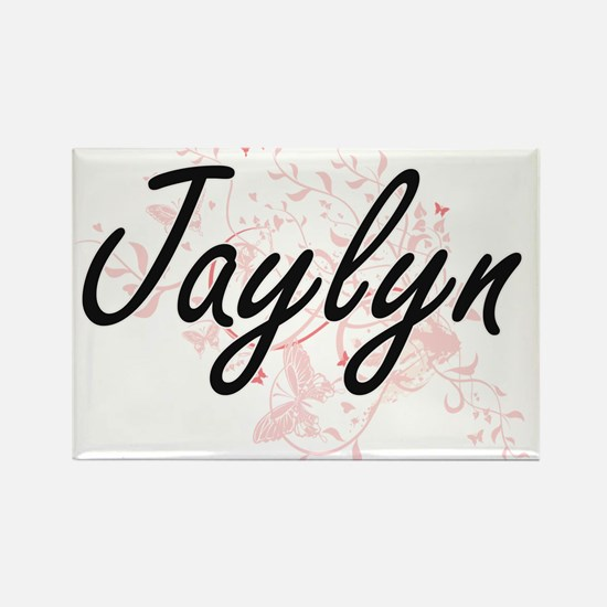 Jaylyn Artistic Name Design with Butterfli Magnets