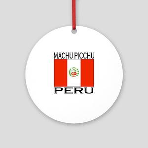 Machu Picchu, Peru Ornament (Round)