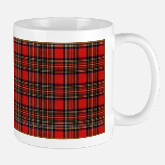 Red Plaid Mug