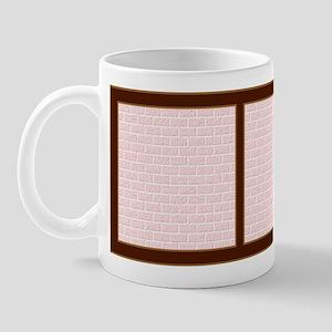 Pink Bricks Mug