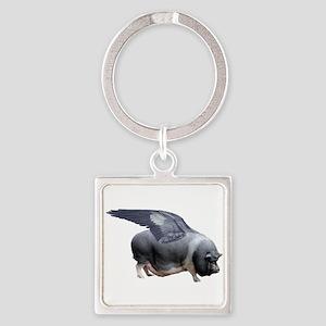 flying pig Keychains
