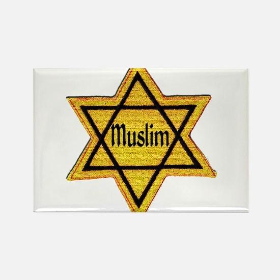 Cute Muslim Rectangle Magnet