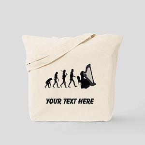 Harp Player Evolution (Custom) Tote Bag