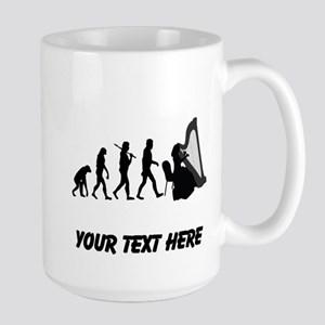 Harp Player Evolution (Custom) Mugs