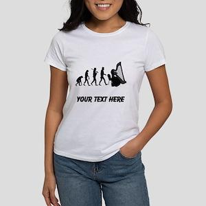 Harp Player Evolution (Custom) T-Shirt