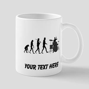 Drummer Evolution (Custom) Mugs