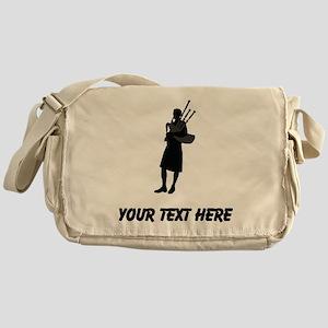 Bagpipe Player (Custom) Messenger Bag