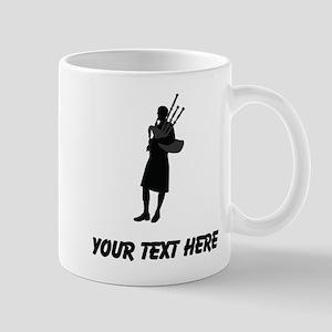 Bagpipe Player (Custom) Mugs