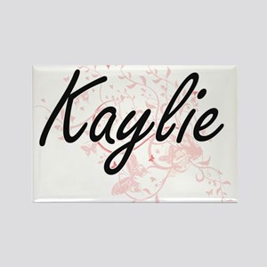 Kaylie Artistic Name Design with Butterfli Magnets