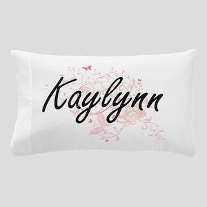Kaylynn Artistic Name Design with Butt Pillow Case
