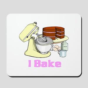 I Bake Mousepad