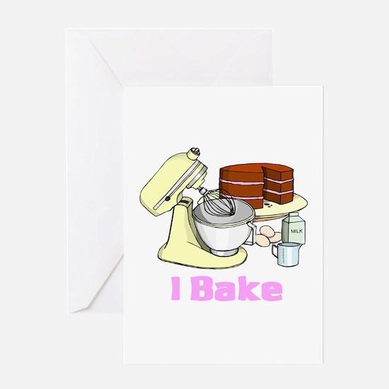 I Bake Greeting Card