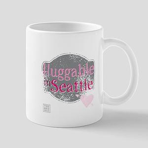 Huggable in Seattle (pink) Mugs