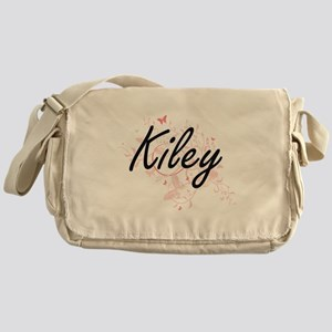 Kiley Artistic Name Design with Butt Messenger Bag