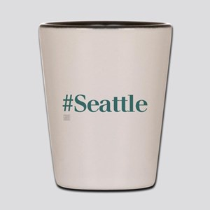 #Seattle, Hashtag Seattle Shot Glass