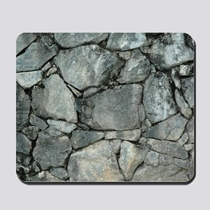 GREY STONE PILE Mousepad