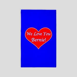 Love You Bernie Area Rug