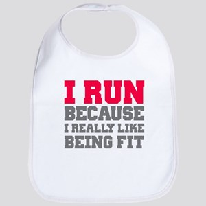 I run because i really like being fit Bib