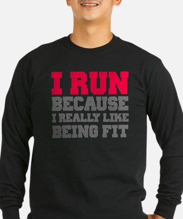 I run because i really like being fit T
