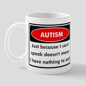 Autism Warning Mug