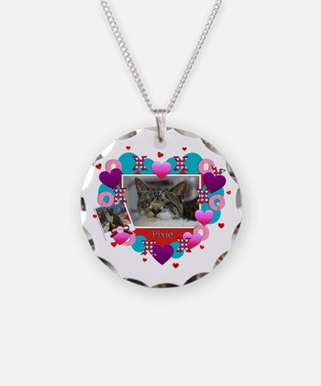Funny Blind cat rescue Necklace