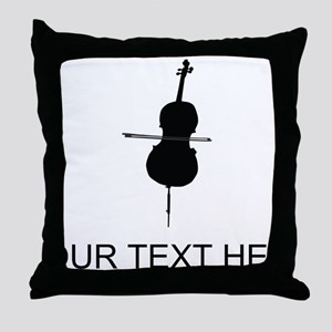 Cello (Custom) Throw Pillow