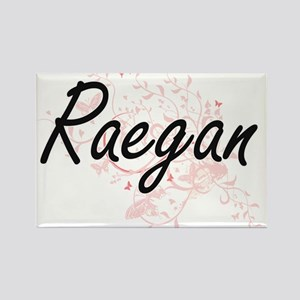 Raegan Artistic Name Design with Butterfli Magnets