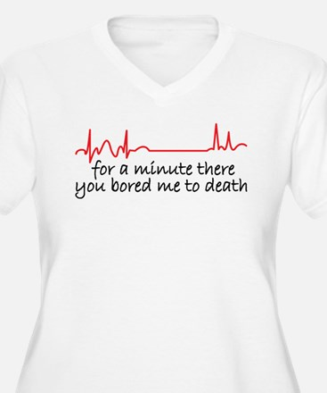 bored to death Plus Size T-Shirt