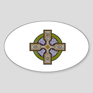 Hope for Brennen Oval Sticker
