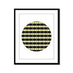 Little Yellow Flowers Framed Panel Print